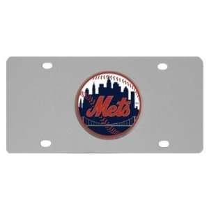 New York Mets Logo License Plate   MLB Baseball   Fan Shop