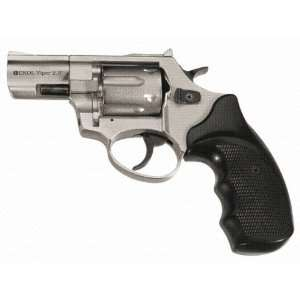 Viper 2.5 Barrel 9MM Blank Firing Replica Revolver   Satin