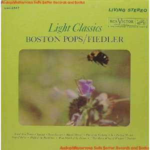 Light Classics Arthur Fiedler Boston Pops Music