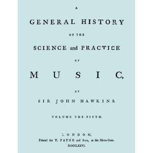 of Vol. 5.] (9781906857585): Sir John Hawkins, Travis & Emery: Books