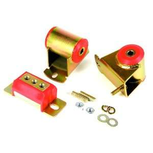 Prothane 1 1906 Red Motor and Transmission Mount Kit for