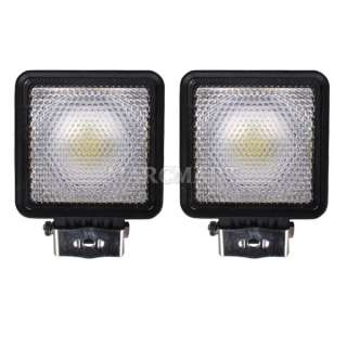 2x 10 30V 30W LED Work Off Road Vehicle Driving Light Flood Tank
