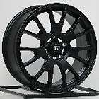17 Inch Wheels Rims Black Honda Accord Civic Nissan Altima Toyota