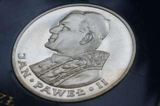 Silver PROOF Pope John Paul II Jan Pawel, 1000 zlotych (1994