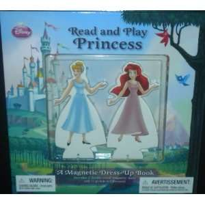 Disney Princess Read & Play Magnetic Dress Up Book