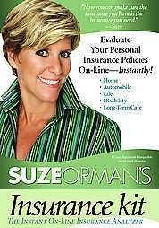 Insurance Policies On line   Instantly by Suze Orman (2007, CD ROM