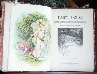 FAIRY FOLKS Stories Poems Illustr. 1902 Benjamin Walter