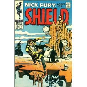 com Nick Fury Agent of S.H.I.E.L.D. Vol 1. #7 Archie Goodwin Books