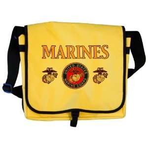 Messenger Bag Marines United States Marine Corps Seal