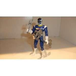 MIGHTY MORPHIN POWER RANGERS LIGHTSTAR BLUE RANGER Toys & Games