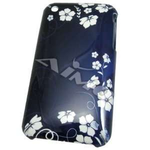 Snap On Back Cover Case Apple iPhone 3G Hawaiian Flower