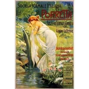 GIRL DRINKING WATER PORRETTA TRAVEL TOURISM EUROPE ITALY ITALIA
