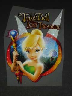 TINKERBELL Iron On Heat Transfer Patch Motif Applique Decal Disney