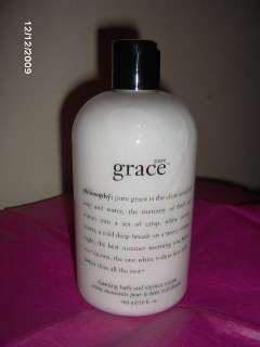 PHILOSOPHY PURE GRACE FOAMING BATH & SHOWER CREAM 16oz.