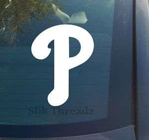 Philadelphia Phillies Vinyl Decal Sticker MLB baseball