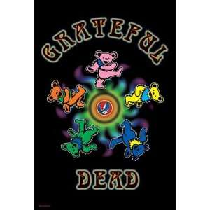 Grateful Dead   Circle of Bears by Unknown 24x36: Home & Kitchen