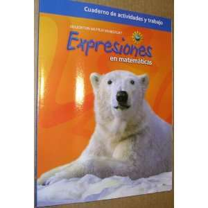Math Expression,Grade 4 Activity Workbook: Houghton