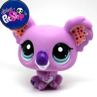 Littlest Pet Shop LPS Koala Toy Animal Figures Collection Free