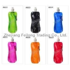 foldable water bottles travel portable folding bottle