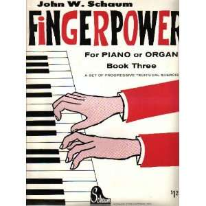for Piano or Organ Book Three (Progressive Technical Exercises