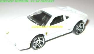 FERRARI 288 GTO WHITE LOOSE DIECAST HOT WHEELS HW