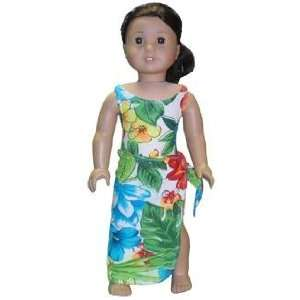Swimsuit outfit with wrap for American Girl dolls Toys & Games