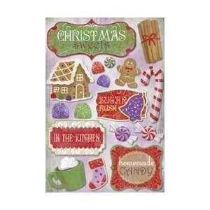 Karen Foster Christmas Cooking Cardstock Stickers 5.5X9