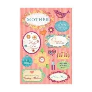 Karen Foster Father/Mother Cardstock Stickers 5.5X9 #1