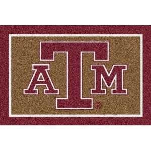 Texas A & M Aggies 5 x 8 Team Door Mat:  Sports