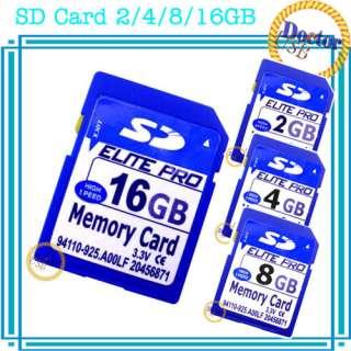 SD Card 2GB 4GB 8GB 16GB High Speed Secure Digital Memory Card for