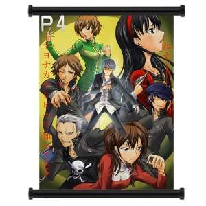 Shin Megami Tensei Persona 4 Game Fabric Wall Scroll