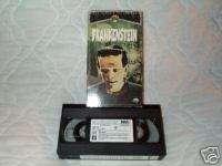 FRANKENSTEIN VHS RESTORED BORIS KARLOFF DWIGHT FRYE