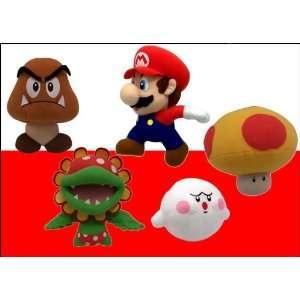 Nintendo Super Mario 6 inch Plush Paragoomba