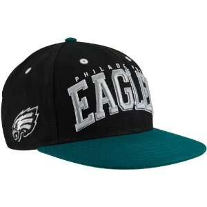 Philadelphia Eagles Big Text 2 Tone Flatbill Snapback Hat