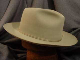 Cowboy Hat Byer Rolnick Early Stage Open Road Style Beige 7 3/8