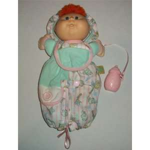 Cabbage Patch Kids Todder Collection Red Hair Green Eyes