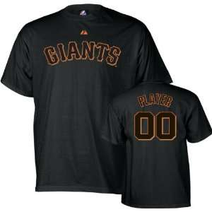 San Francisco Giants   Any Player   Youth Name & Number T shirt