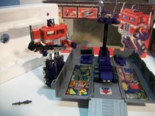 Transformers Original G1 Optimus Prime Near Complete w/ Box and Foam