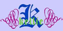 OLD ENGLISH   209 MACHINE FONT EMBROIDERY DESIGNS(AzEB)