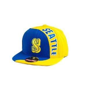 Sidewinder Snapback Cap (Royal/Gold, Adjustable): Sports & Outdoors