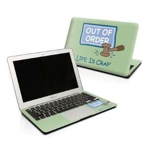 Out Of Order Design Protector Skin Decal Sticker for Apple MacBook Pro