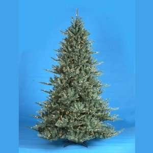 New   6.5 Pre Lit Blue Spruce Decorative Christmas Tree