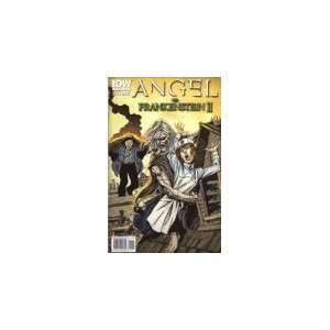 Angel Vs Frankenstein II Comic Book John Byrne Books