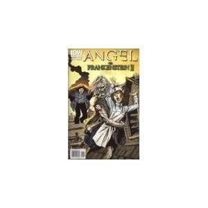 Angel Vs Frankenstein II Comic Book John Byrne Books