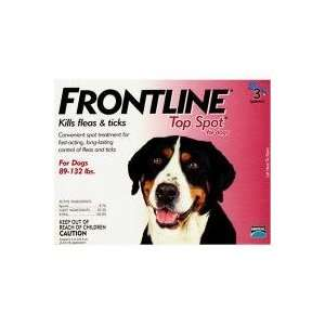 Frontline Top Spot for Dogs 89 132 lbs: Pet Supplies