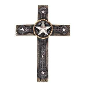 MORNING STAR Western Style Cross Wall Hanging