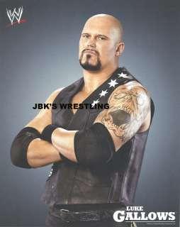 LUKE GALLOWS WWE WRESTLING PROMO/PHOTO GRAY #87 NEW