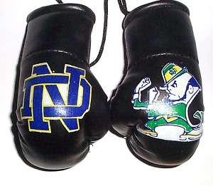 Notre Dame Mini Boxing Gloves (The Fighting Irish)