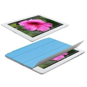Navitech Blue Magnetic Smart Cover For The New ipad (third