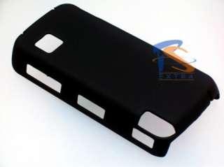 Hybrid Hard Back Case Cover For Nokia 5230 Black